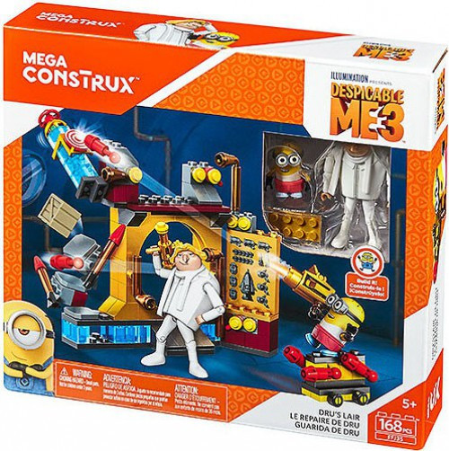 Despicable Me Minions Dru's Lair Exclusive Set