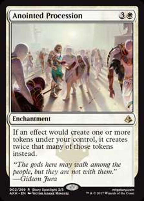 MtG Amonkhet Rare Anointed Procession #2