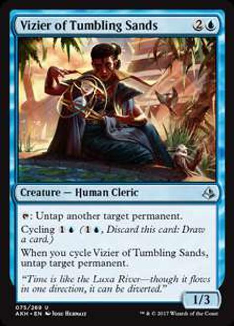 MtG Amonkhet Uncommon Vizier of Tumbling Sands #75