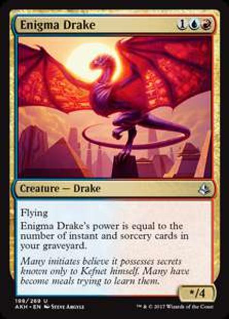 MtG Amonkhet Uncommon Enigma Drake #198