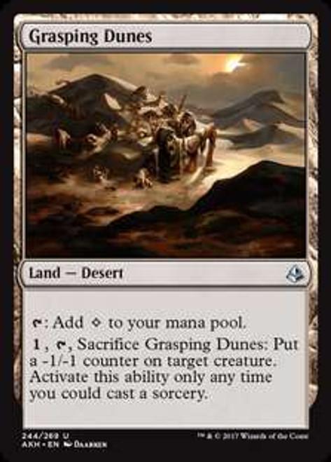 MtG Amonkhet Uncommon Grasping Dunes #244