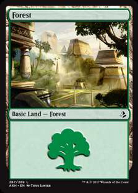 MtG Amonkhet Land Forest #500 [RANDOM Art]