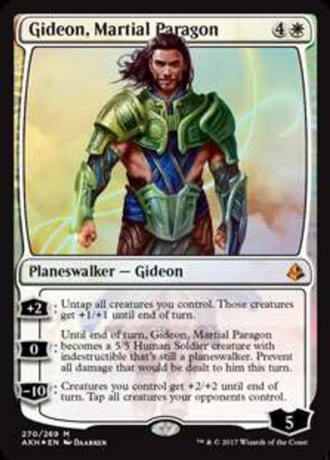 MtG Amonkhet Mythic Rare Gideon, Martial Paragon #270