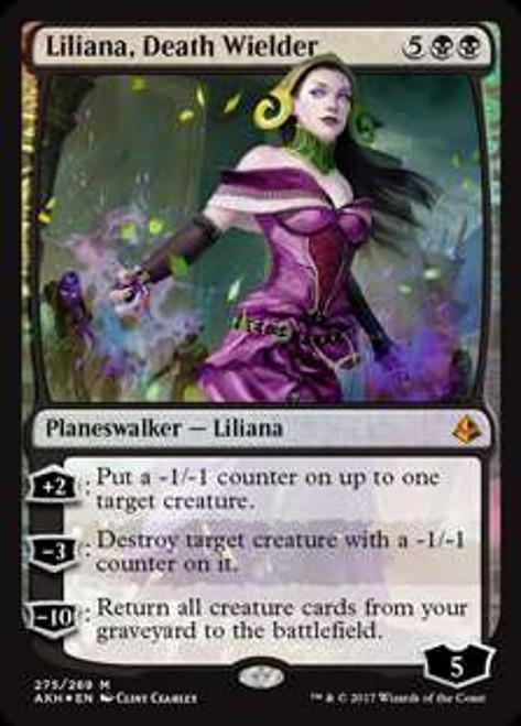 MtG Amonkhet Mythic Rare Liliana, Death Wielder #275
