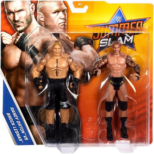 WWE Wrestling Battle Pack Summer Slam 2017 Brock Lesnar & Randy Orton Action Figure 2-Pack