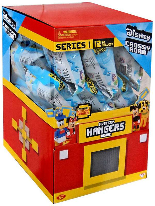 Disney Series 1 Crossy Road Hanger Mystery Box [24 Packs]
