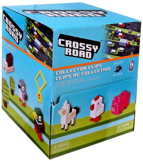 Crossy Road Collector Clips Mystery Box [24 Packs]