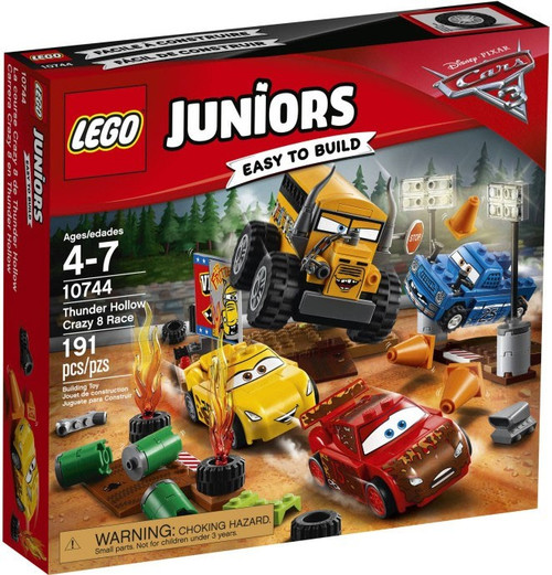 LEGO Disney / Pixar Cars Cars 3 Juniors Thunder Hollow Crazy 8 Race Set #10744