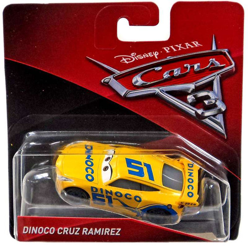 Disney / Pixar Cars Cars 3 Dinoco Cruz Ramirez Diecast Car [Checkout Lane]