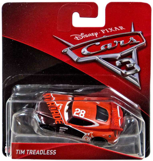 Disney / Pixar Cars Cars 3 Tim Treadless Diecast Car [Checkout Lane]