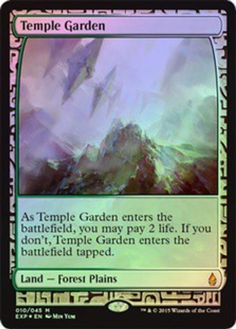 MtG Battle for Zendikar Rare Temple Garden [Zendikar Expedition]