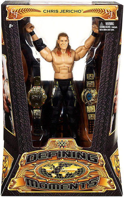 WWE Wrestling Defining Moments Chris Jericho Action Figure [Y2J Undisputed Champion]