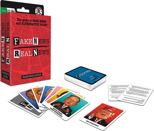Fake News Real News Card Game [Nonpartisan Political Game!]