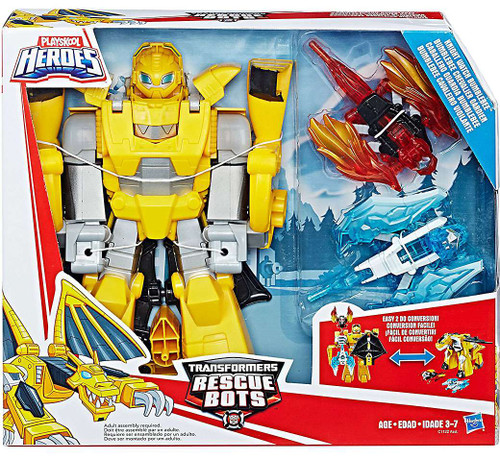 Transformers Rescue Bots Knight Watch Bumblebee Action Figure