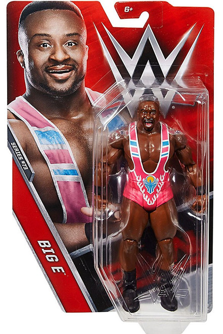 WWE Wrestling Series 73 Big E Action Figure