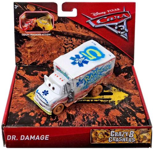 Disney / Pixar Cars Cars 3 Crazy 8 Oversized Crashers Dr. Damage Vehicle