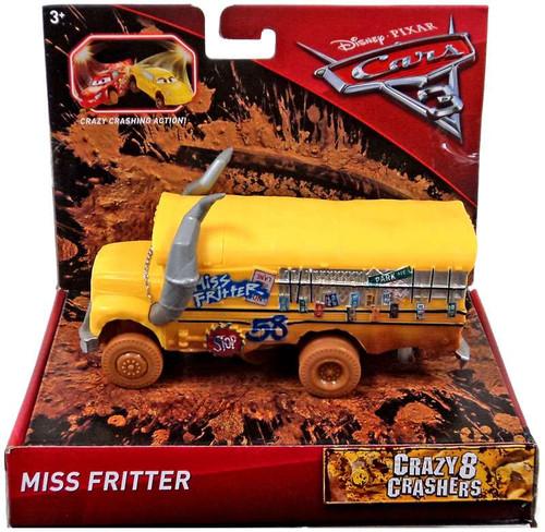 Disney / Pixar Cars Cars 3 Crazy 8 Oversized Crashers Miss Fritter Vehicle