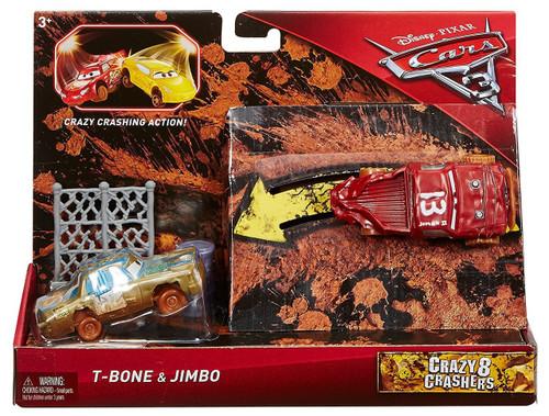 Disney / Pixar Cars Cars 3 Crazy 8 Crashers T-Bone & Jimbo Vehicle 2-Pack