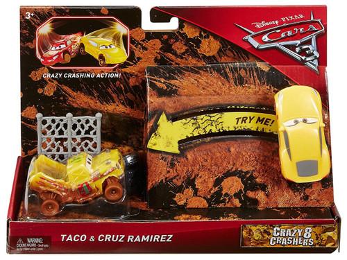 Disney / Pixar Cars Cars 3 Crazy 8 Crashers Taco & Cruz Ramirez Vehicle 2-Pack