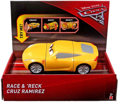 Disney / Pixar Cars Cars 3 Race & 'Reck Cruz Ramirez Vehicle
