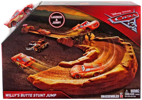 Disney / Pixar Cars Cars 3 Willy's Butte Stunt Jump Playset