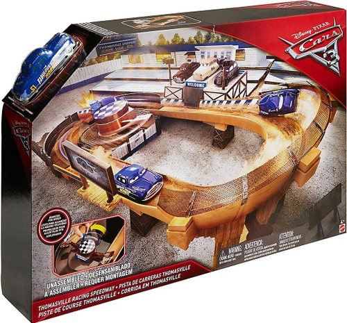 Disney / Pixar Cars Cars 3 Thomasville Racing Speedway Playset