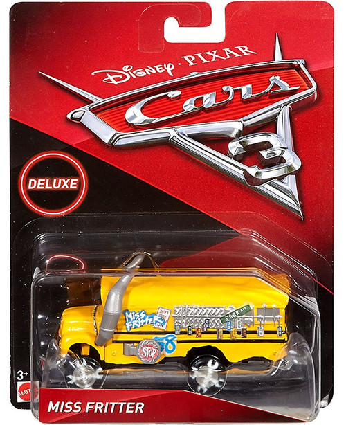 Disney / Pixar Cars Cars 3 Deluxe Oversized Miss Fritter Diecast Car