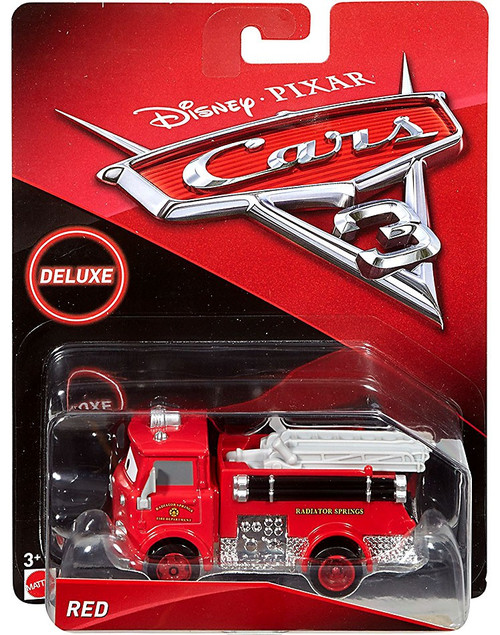Disney / Pixar Cars Cars 3 Deluxe Oversized Red Diecast Car [Cars 3]