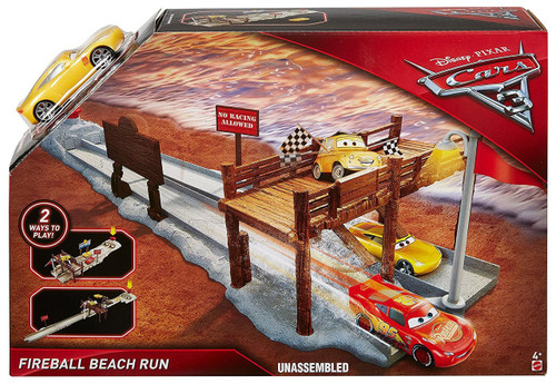 Disney / Pixar Cars Cars 3 Fireball Beach Run Playset