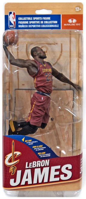 McFarlane Toys NBA Cleveland Cavaliers Sports Picks Series 31 Lebron James Action Figure [Red Uniform]