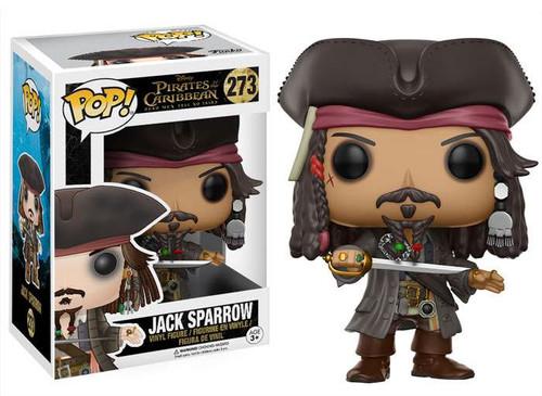 Funko Pirates of the Caribbean POP! Disney Jack Sparrow Vinyl Figure #273 [Dead Men Tell No Tales]