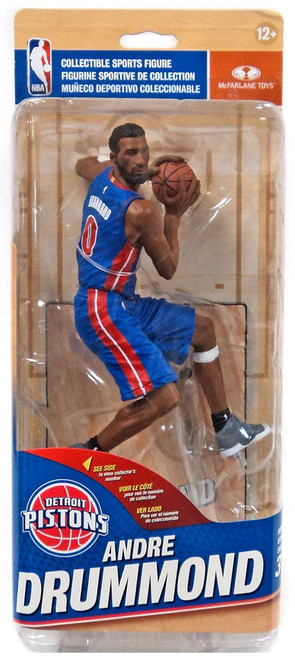 McFarlane Toys NBA Detroit Pistons Sports Picks Series 31 Andre Drummond Action Figure [Blue Uniform]