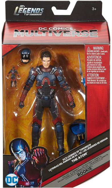 DC Legends of Tomorrow Multiverse Rookie Series Atom Action Figure