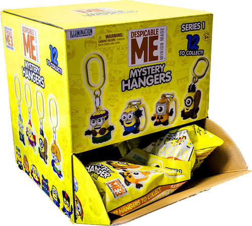 Minion Made Clip On Hanger Despicable Me Mystery Box [24 Packs]