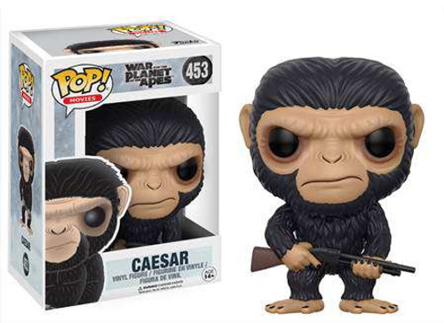 Funko War for the Planet of the Apes POP! Movies Caesar Vinyl Figure #453