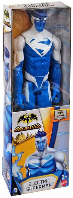 Batman Unlimited Electric Superman Action Figure