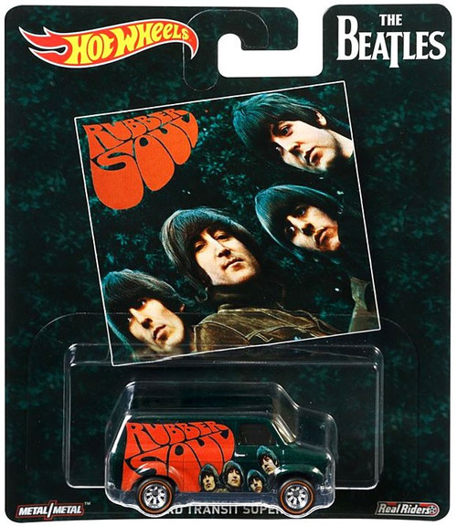 Hot Wheels The Beatles Rubber Soul Die-Cast Car [Ford Transit Supervan]