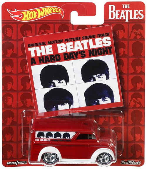 Hot Wheels The Beatles A Hard Day's Night Diecast Car [Dairy Delivery]