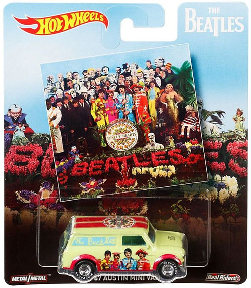 Hot Wheels The Beatles Sgt. Peppers Lonely Hearts Club Band Diecast Car ['67 Austin Mini Van]