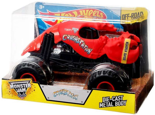 Hot Wheels Monster Jam 25 Crushstation Die-Cast Car