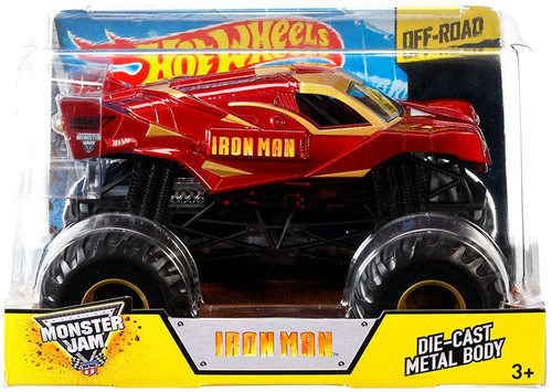 Hot Wheels Monster Jam 25 Iron Man Die-Cast Car