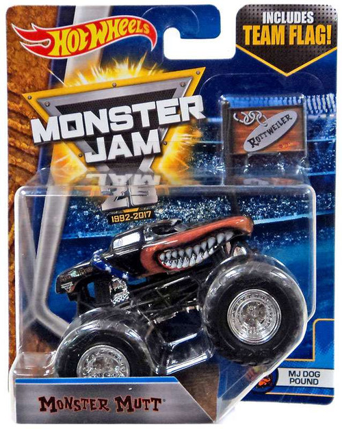 Hot Wheels Monster Jam 25 Monster Mutt Die-Cast Car [MJ Dog Pound]
