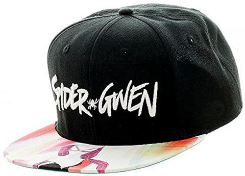 Marvel Spider Gwen Sublimated Snapback Cap Apparel