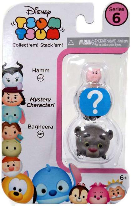 Disney Tsum Tsum Series 6 Hamm & Bagheera 1-Inch Minifigure 3-Pack #334 & 612