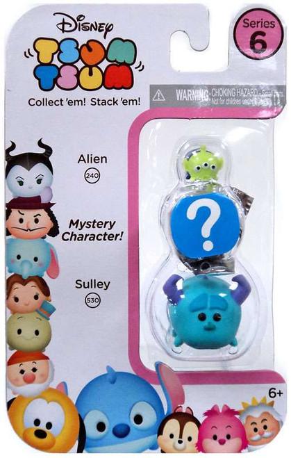 Disney Tsum Tsum Series 6 Alien & Sulley 1-Inch Minifigure 3-Pack #240 & 530