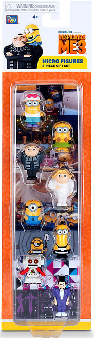 Despicable Me 3 Exclusive 1-Inch Micro Figure 8-Pack