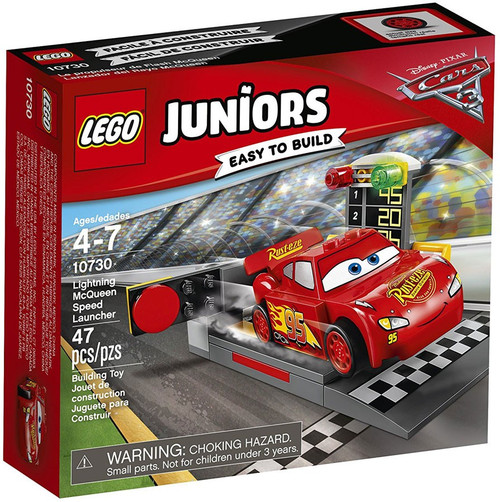 LEGO Disney / Pixar Cars Cars 3 Juniors Lightning McQueen Speed Launcher Set #10730