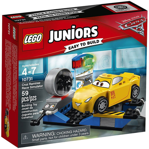 LEGO Disney / Pixar Cars Cars 3 Juniors Cruz Ramirez Race Simulator Set #10731