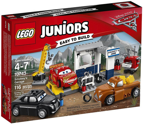 LEGO Disney / Pixar Cars Cars 3 Juniors Smokey's Garage Set #10743