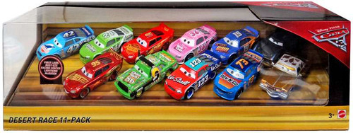 Disney / Pixar Cars Cars 3 Desert Race Exclusive Diecast Car 11-Pack